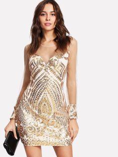 3ed5d7e8aec Search sequin. Pink Sequin DressGold Lace DressesGold Party ...