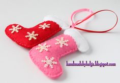 Handmade by Helga: Christmas tree decorations