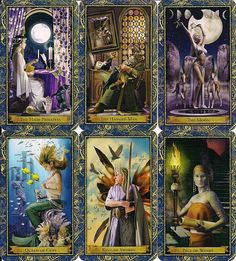 The Wizards Tarot.  I usually stay clear of any tarot that uses real people Photoshopped into scenes.  It's too distracting when doing readings.  However, this deck I make an exception due to the author Corinne Kenner and the Wizard School premise she created.  All the majors are professors in their field and the minors are the students.  #tarot