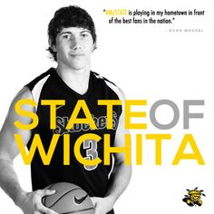 """#MySTATE is playing in my hometown in front of the best fans in the nation."""" - Evan Wessel #WATCHUS"""