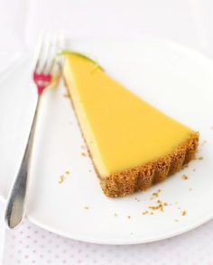 Key Lime Tart, Martha Stewart. Use with shortcrust pastry