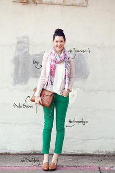 Green Outfit for Spring