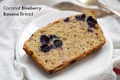 Coconut Blueberry Banana Bread