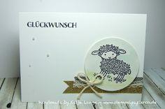 Glückwunschkarte - Easter Lamb - Stampin' Up!