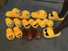 2016 Emoji Smiley Slipers - AMOREH   Shop with LoVe - 1