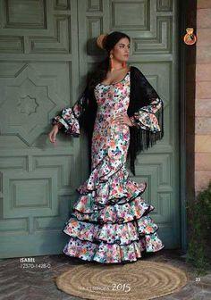 Traje de Flamenca. Isabel