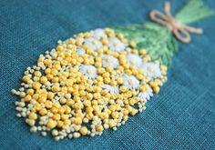 * . ミモザの花束 . . #刺繍#手刺繍#手芸#embroidery#handembroidery#stitching#needlework#자수#broderie#bordado#вишивка#stickerei