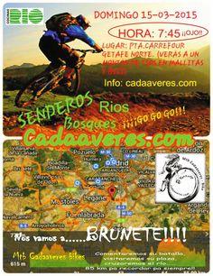 Mtb Cadaáveres - Bike : ¡A Brunete!