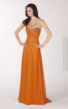 Burnt Orange Bridesmaid Dresses Under 100 | orange bridesmaid ...