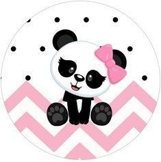 Rotulo Tubete 2 Panda Rosa Menina Panda Themed Party, Panda Birthday Party, Panda Party, Diy Birthday, Panda Decorations, Panda Bebe, Panda Cakes, Cute Panda Wallpaper, Panda Wallpapers