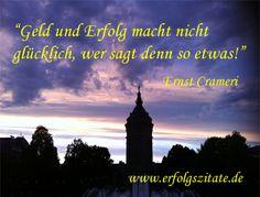 Erfolgszitat von Ernst Crameri Ernst Crameri  Schweizer Geschäftsmann und Schriftsteller (06.10.1959 - 06.10.2069)  Statement Ernst Crameri... (http://prg.li/m/218734)
