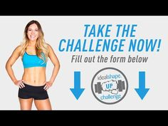 12 Week IdealShape Up Challenge. I am definitely considering this. Being given a specific workout for my day would be helpful instead of trying to figure out what to do.