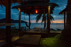 Koh Chang, Thailand, Asia  Paradise cottages http://tinytrek.blogspot.fi/2015/10/eagle-has-landed-koh-chang.html