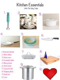 Kitchen Essentials Round-up