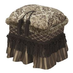 You'll love the Cassandra Traditional Decorative Ottoman at Wayfair - Great Deals on all Furniture  products with Free Shipping on most stuff, even the big stuff.