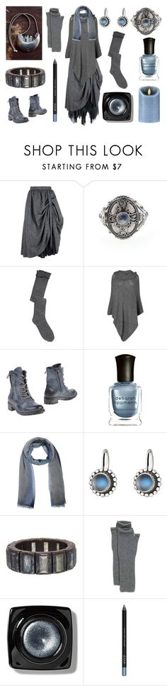Moonlit Witch by maggiehemlock on Polyvore featuring Phase Eight, Veronique Branquinho, Lady Kiara, Nak Armstrong, Georg Jensen, Toast, Cerruti 1881, Bobbi Brown Cosmetics, Deborah Lippmann and Boston Warehouse