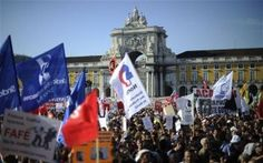 EUROPE – Portuguese march against austerity and want the governmentout