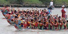 China festejó el Festival del Bote del Dragón - http://www.absolut-china.com/china-festejo-el-festival-del-bote-del-dragon/