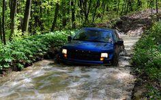Ford F-150 SVT blue truck streaming