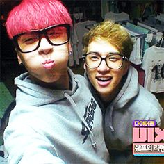 When Ken purposely dressed like Ravi during a VIXX MTV episode. I love these dorks so much.