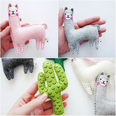 and llama llama gifts alpaca plush llama nursery decor cactus ornament organic toy lama baby shower alpaca toy pastel nursery Felt Crafts, Fabric Crafts, Lama Lama, Alpaca Toy, Llama Plush, Wool Felt Fabric, Pastel Nursery, Llama Gifts, Baby Crib Mobile