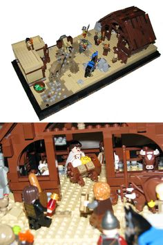 LEGO Nativity Scene by lightparticle