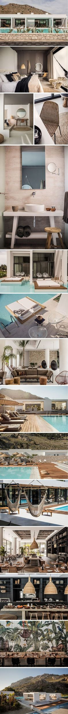 ERRRMYGAWD. Have you all checked out this beyond beautiful boutique hotel that opened in Rhodes, Greece this past June!? Well if you haven't yet, it's called Casa Cook and it's st…