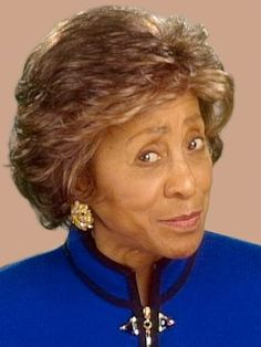 Marla Gibbs - actress, writer, (b 06/14/1931 Chicago) known for playing the feisty maid on the Jefferson's tv show