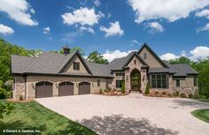 Plan of the Week over 2500 sq ft - The Jasper Hill 5020! 3920 sq ft, 5 beds, 5.5 baths. #WeDesignDreams