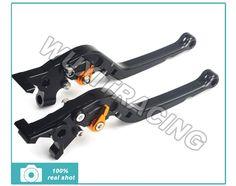 63.70$  Buy here - http://aliu0d.worldwells.pw/go.php?t=1954679337 - CNC Adjustable Long Folding Brake Clutch Lever For BUELL Ulysses XB12XT 2009 XB12 2004-2008 XB9 2003-2009