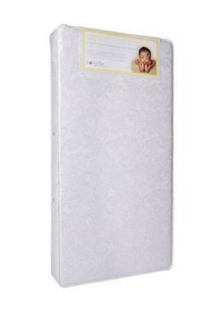 Colgate Ultra II 150 Coil - Orthopedic-Style Hypoallergenic Crib and Toddler Mattress with Waterproof Cover, White Best Mattress, Crib Mattress, Nursery Furniture, Home Decor Store, White Houses, Cribs, Home And Garden, Cover, Coconut Shell