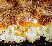 Rezept: Quark - Reis - Auflauf mit Pfirsichen