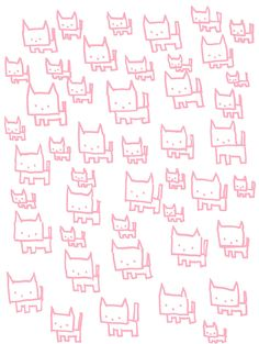 Kittens. via Etsy. share cute things at www.sharecute.com