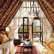 African tree house called Ngong House, Karen Nairobi, Africa