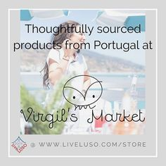 Check out our newest directory member! @virgilsmarket is an online store with a selection of artisanal Portuguese products. #liveluso #virgilsmarket