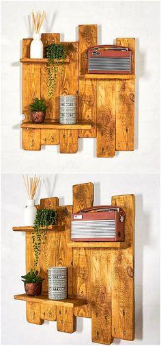 pallets creative shelf