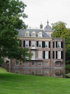 Europe | Zypendaal Castle, Zijpendaal Park, Arhem, Gelderland, The Netherlands. Is an 18th Century mansion.