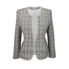 Σακάκι τυπου chanel Blazers, Chanel, Sweaters, Jackets, Shopping, Women, Fashion, Down Jackets, Moda