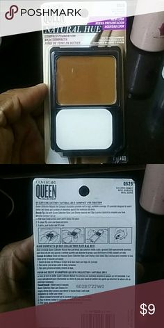 Covergirl Queen Collection Description NIB compact cream foundation natural hue mid to high coverage   Color: Q525 Golden Honey  Price is firm  No pp  No other sites Covergirl Makeup Foundation