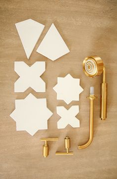 Bathroom tile shapes
