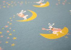 hide and seek yuwa fabric | my favorite fabric of the market — these bunnies from Yuwa. Yuwa ...