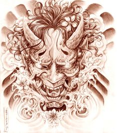 HANNYA MASK by Gorgoncult.deviantart.com on @deviantART