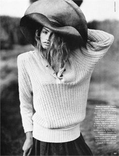 Summer Knitwear - Photo by Sante D'Orazio Vogue Italia