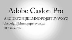Serif Typeface, Book Publishing, Adobe, Fonts, Printed, Free, Letters, Cob Loaf, Script Fonts