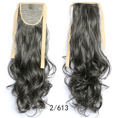 Wavy Ponytail, Drawstring Ponytail, Ombre Hair Extensions, Queen Hair, Long Curly, Synthetic Hair, Hair Pieces, Fashion Women, Long Hair Styles