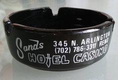 Sands Hotel and Casino Vintage Ashtray, El Rancho Motels, Vintage Home Decor, Las Vegas, Nevada, Travel Souvenir, Tobacciana by VintageCoolETC on Etsy