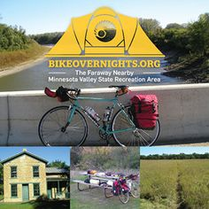"""""""The Faraway Nearby,"""" a bike overnight to the Minnesota Valley State Recreation Area — Bike Overnights"""