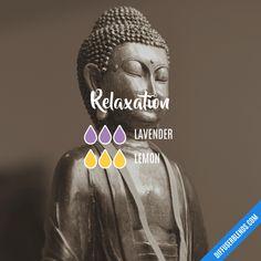 Relaxation #essentialoils #diffuserblend #doterra