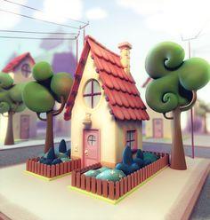 Casa Cartoon Picture big by Fernandocalvi Cartoon pics Concept creation Pictures