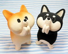 The special orders! Shiba Inu figurines